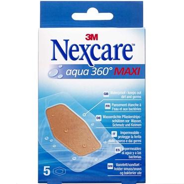 Image of   3M Nexcare Aqua 360° maxi 5 stk