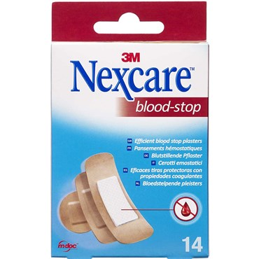 Image of   3m nexcare blood-stop ass 14 stk