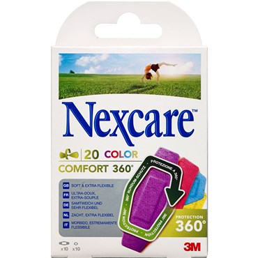 Image of   3M Nexcare Comfort 360 color 20 stk