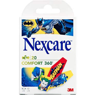 Image of 3M Nexcare Comfort strips 360° batman 20 stk