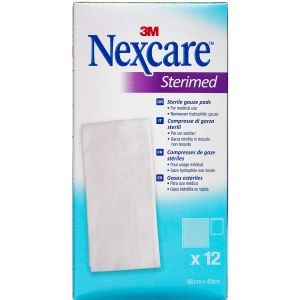 3m nexcare gaze­kompres steril 12 stk thumbnail