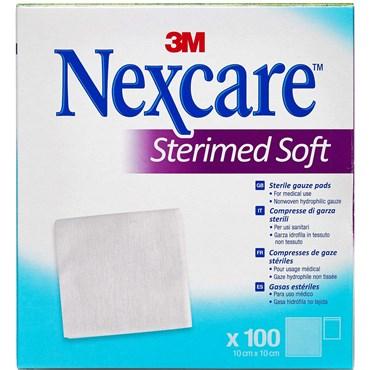 Image of   3m nexcare gazekompres sterile 100 stk