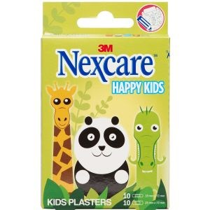 3m nexcare happy kids animals 20 plasterst thumbnail