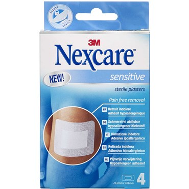Image of   3m nexcare sensitive pads 4 stk