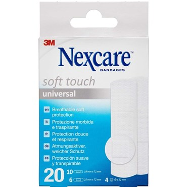 3m nexcare soft touch ass Medicinsk udstyr 20 stk thumbnail