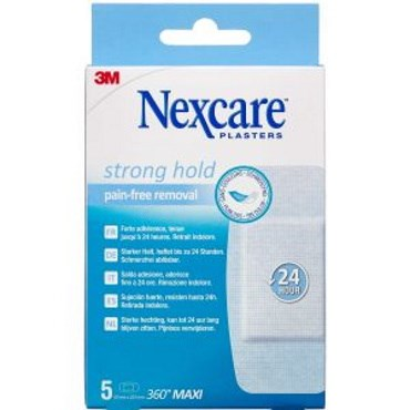 Image of 3m nexcare strong hold pads 5 stk