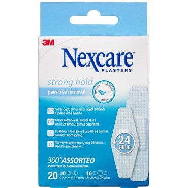 Image of 3m nexcare strong hold silikon 20 stass