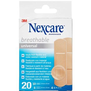 3m nexcare universal plaster Medicinsk udstyr 20 stk thumbnail
