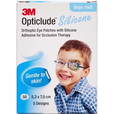 Image of   3m opticlude skeleplaster boy 1 stk