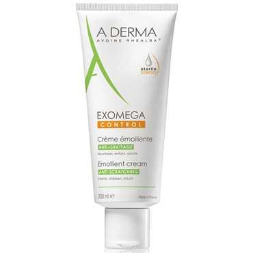 Image of   A-derma exomega control cream 200 ml