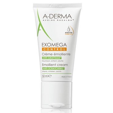 Image of   A-derma exomega control cream 50 ml