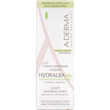 Image of   A-Derma Hydralba 24H Light Cream 40 ml