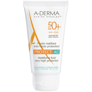 Image of   A-derma protect AC lotion spf 50+ 40 ml
