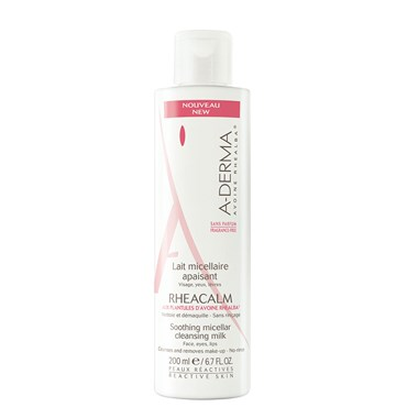 Image of   A-derma rheacalm micellar milk 200 ml