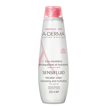 Image of   A-Derma Sensfluid Micellar Water 250 ml
