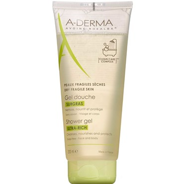 Image of   A-derma ultra-rich shower gel 200 ml