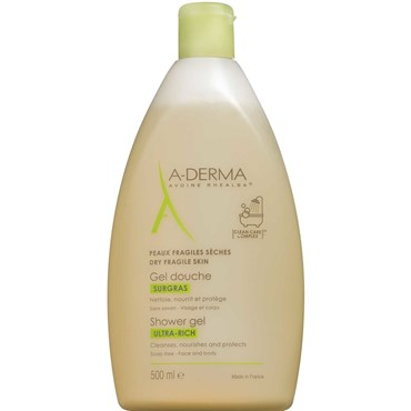 Image of   A-derma ultra-rich shower gel 500 ml