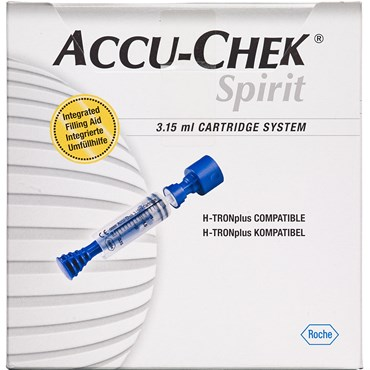 Image of   ACCU-CHEK sprit catr. system 25 x 3 25 x 3,15 ml