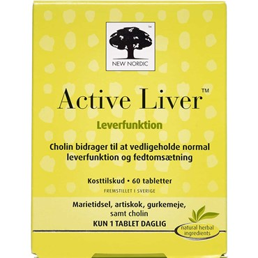 Image of   Active Liver tabletter 60 stk
