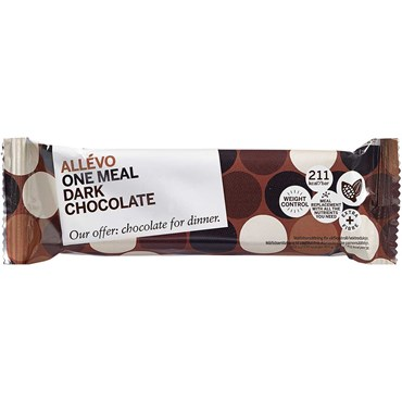 Image of Allevo LCD Bar One meal Dark Chocolate 1 stk