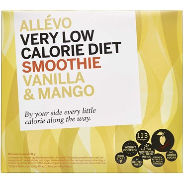 Image of Allevo VLCD Smoothie Vanilla with Mango 20 breve