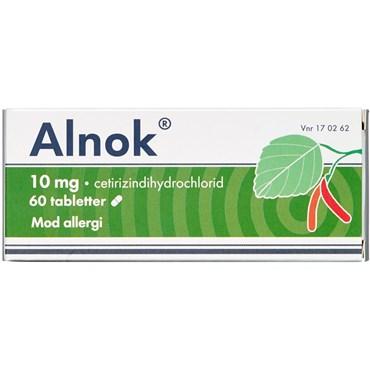 Billede af Alnok 60 stk Filmovertrukne tabletter
