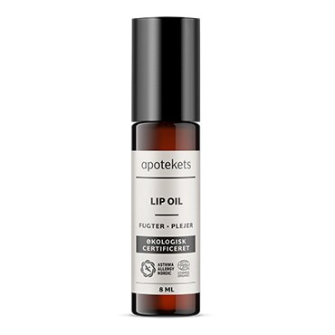 Image of   Apotekets Økologisk Certificeret lip oil 8 ml