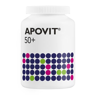 Image of Apovit 50+ Tabletter 200 stk