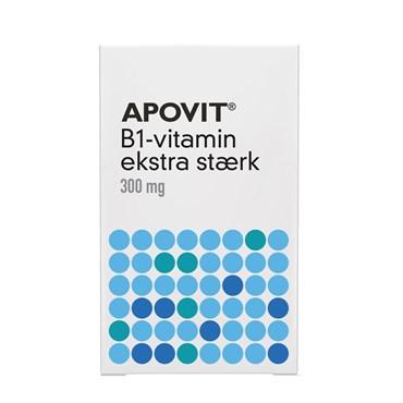 Image of APOVIT B1-vitamin ekstra stærk 100 stk