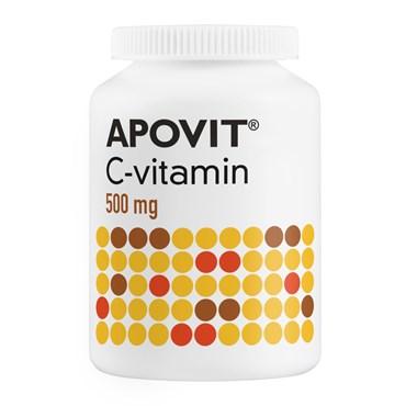 Image of Apovit C-vitamin 500 mg 200 stk