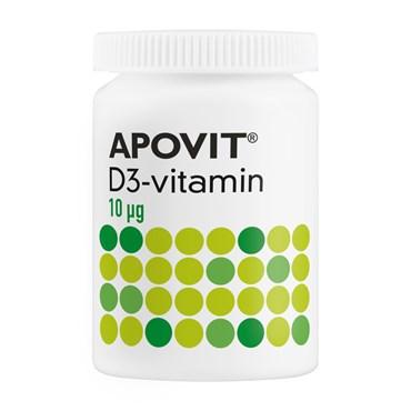 Apovit d-vitamin tabletter 10 mikg 300 stk thumbnail