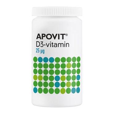 APOVIT D3-vitamin (25 µg) 300 stk thumbnail