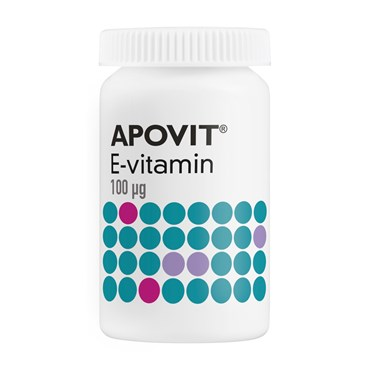Apovit E-vitamin 100 mg
