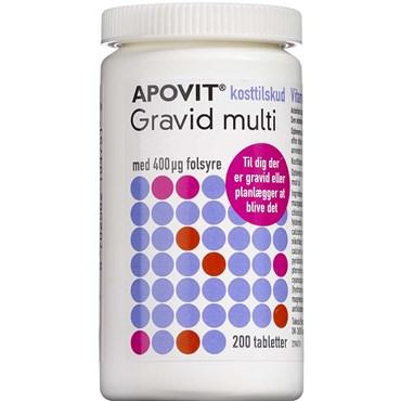 Image of Apovit Gravid Multi tabletter 200 stk