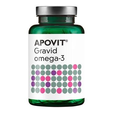 Image of   Apovit Gravid Omega-3 750mg 90 stk