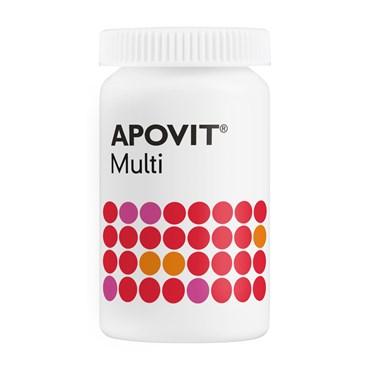 Image of Apovit multi voksen tabl 100 stk