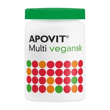Image of Apovit multivitamin tabletter vegan 60 stk
