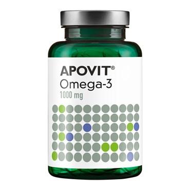Image of   Apovit Omega-3, 1000 mg kapsler 120 stk