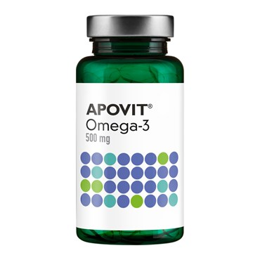 Image of   Apovit omega 3 kaps 500 mg 120 stk