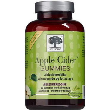Image of   Apple cider gummies 60 stk