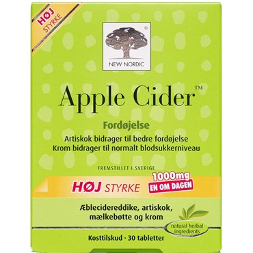 Image of   Apple cider tabl 30 stk