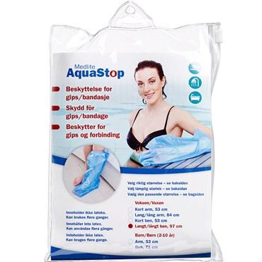 Image of   Aquastop beskyttelse voksen, ben, lang 1 stk