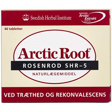 Billede af Arctic Root Rosenrod tabletter Naturlægemiddel 40 stk