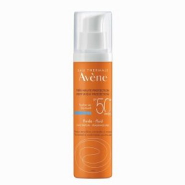 Image of   Avene sun fluid spf 50+ 50 ml