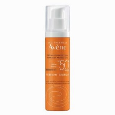 Image of   Avène Sun Fluid Tinted SPF50+ 50 ml