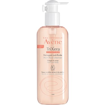 Image of Avène Trixera Nutri-Fluid Cleanser 400 ml