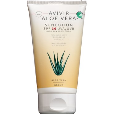 Image of   AVIVIR Aloe Vera Sun Lotion SPF 30 150 ml