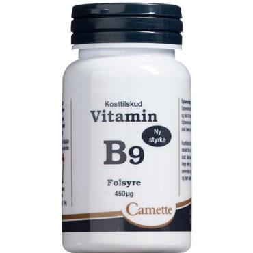 B9 vitamin 450 mikg 90 stk thumbnail