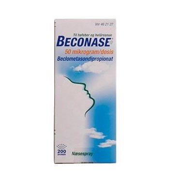 Beconase 200 dosis Næsespray, suspension thumbnail
