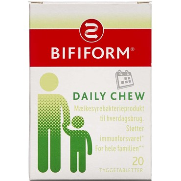 Image of   Bifiform Daily Chew 20 stk.